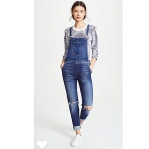 NWT L'agence Harper overall pants sz 23